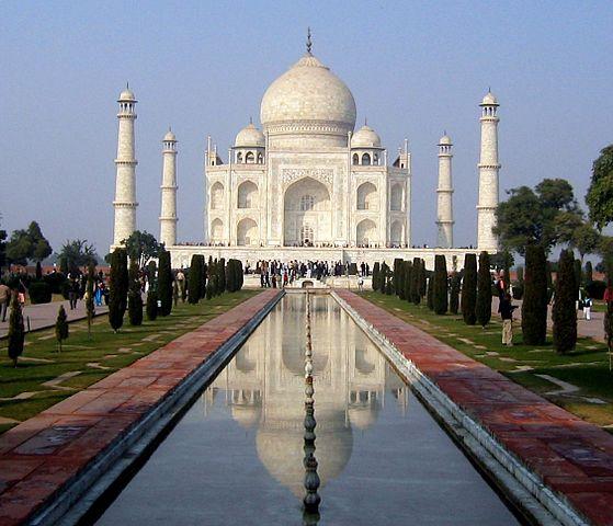 Le TAJ MAHAL (Inde)