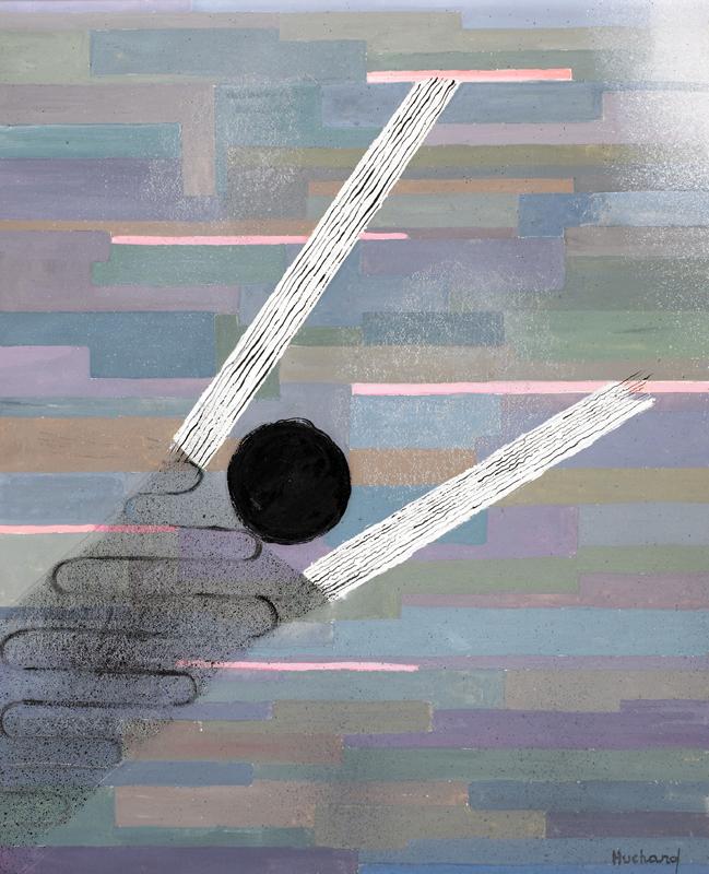 Le gris des jours par H. Huchard