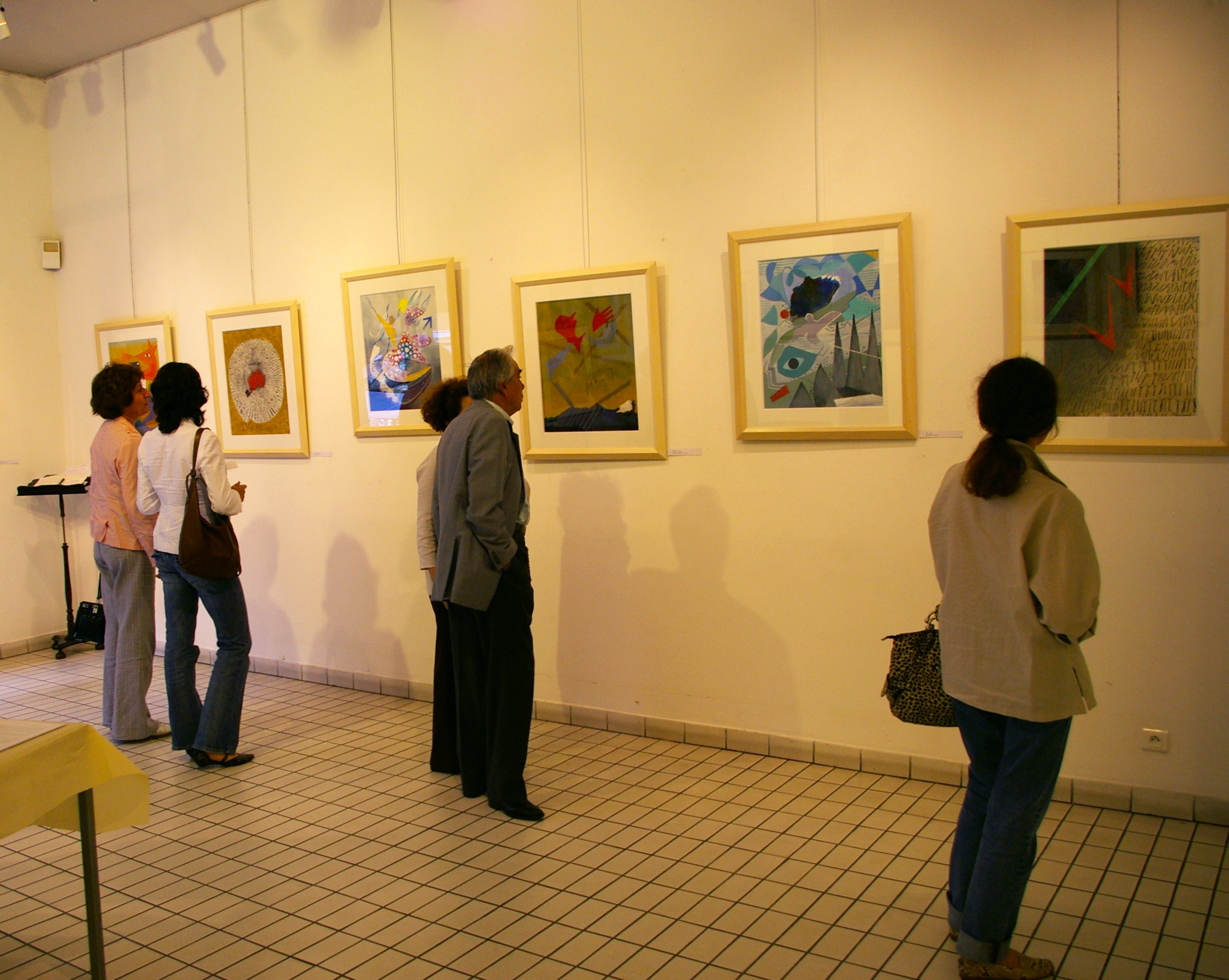 Exposition à Paris en 2007