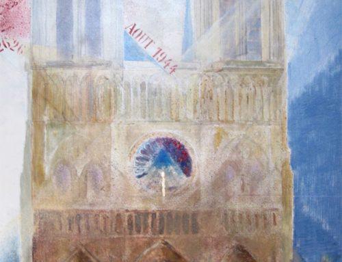 15 avril2019 : Hommage à Notre-Dame qui brûle!
