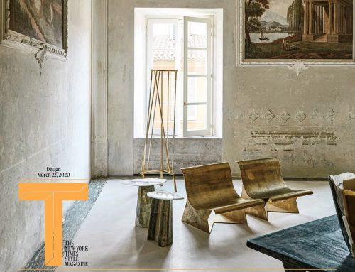 22 mars 2020 The New-York Times Style MagazineUn miroir de 1942 dans la maison de l'architecte De Cotiis en Toscane