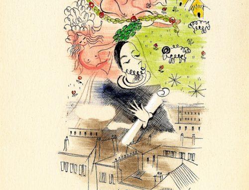 Octobre 2019 : Découverte de l'illustration d'un poème de Tristan Derème